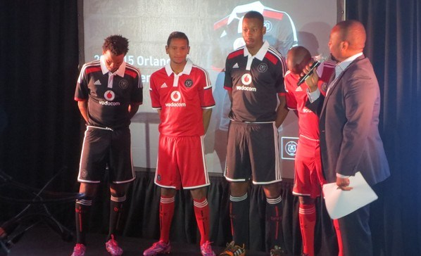 Orlando Pirates New Kit 2014/15- Adidas OPFC Jerseys 2014-2015 Home Away