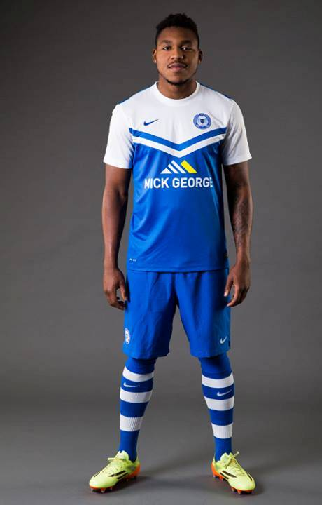New Peterborough United Home Kit 14/15- Nike Posh Home Shirt 2014/2015