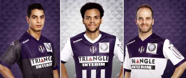 New Toulouse FC Jerseys 2014/2015- Kappa TFC Kits 14/15 Home Away Third