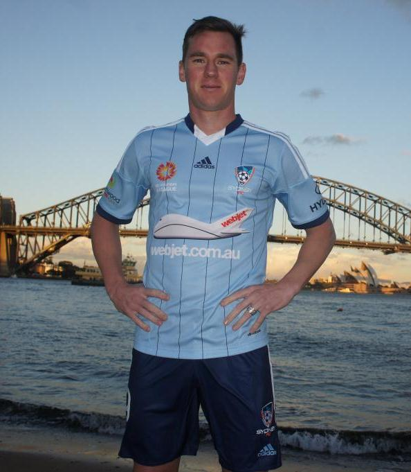 New Sydney FC Jersey 2014-2015- Adidas Sydney FC Home Kit 14-15