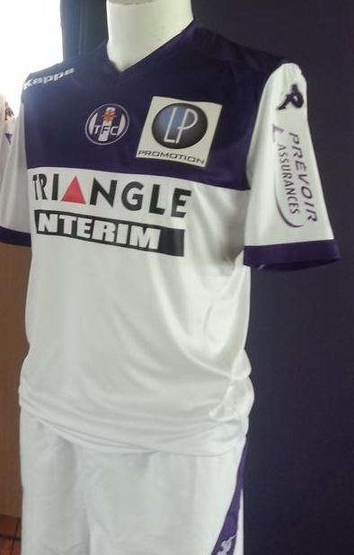 Toulouse FC Away Kit 14 15