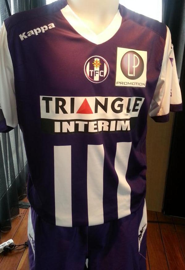 Toulouse Home Kit 2014 2015