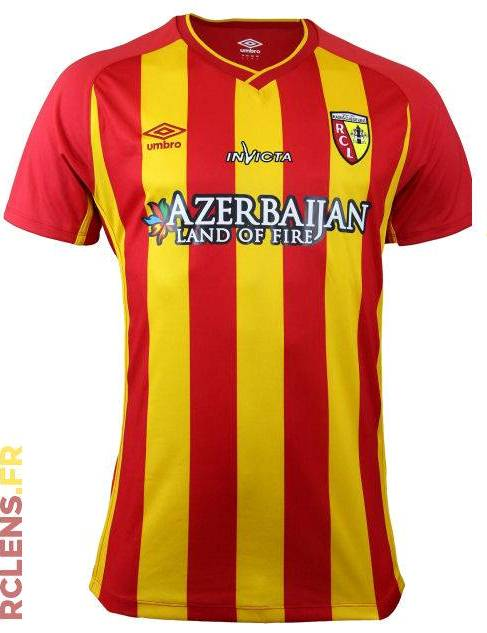 Umbro RC Lens Jersey 2014 15