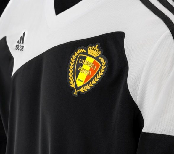 Black Belgium Away Kit 14 15