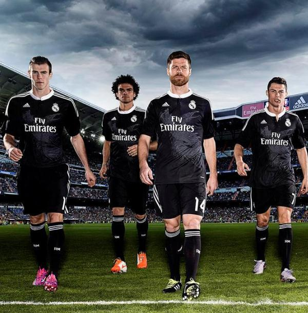 Black Real Madrid Kit 2014 2015