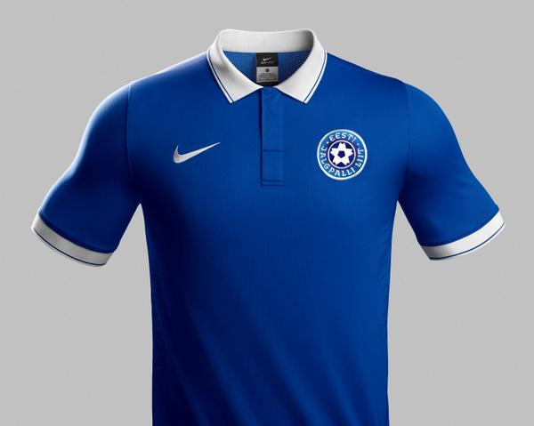 Estonia Football Shirt 2014 15