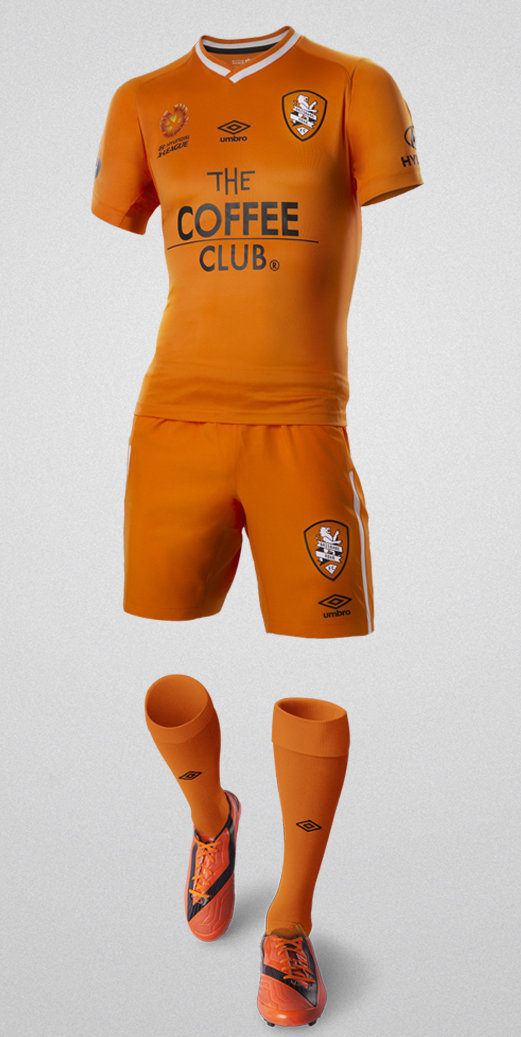 New Brisbane Roar Umbro Jersey 2014 15
