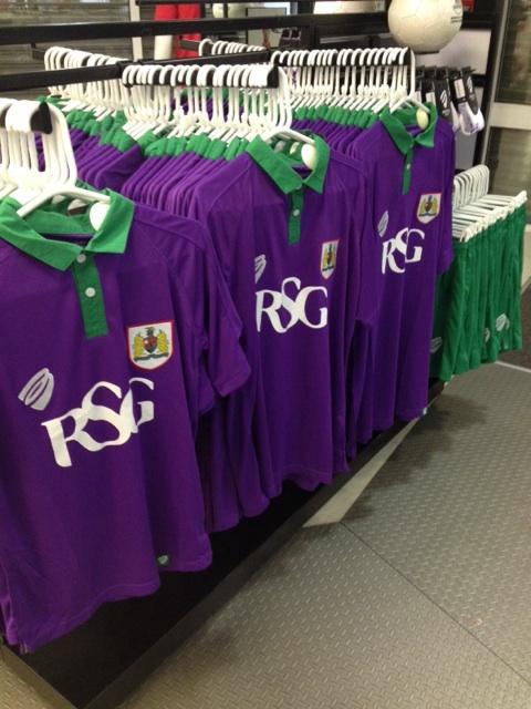 New Bristol City Third Kit 2014-15- BCFC Purple Lime Shirt 14/15