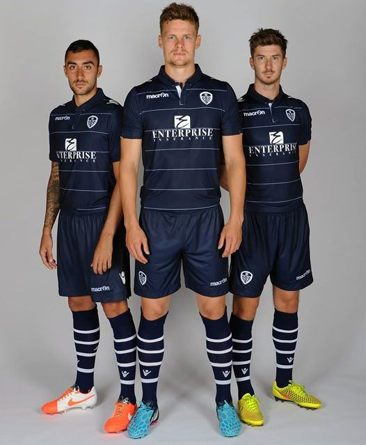 New Leeds Away Kit 14 15