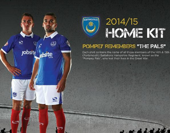 New Portsmouth Home Kit 14 15