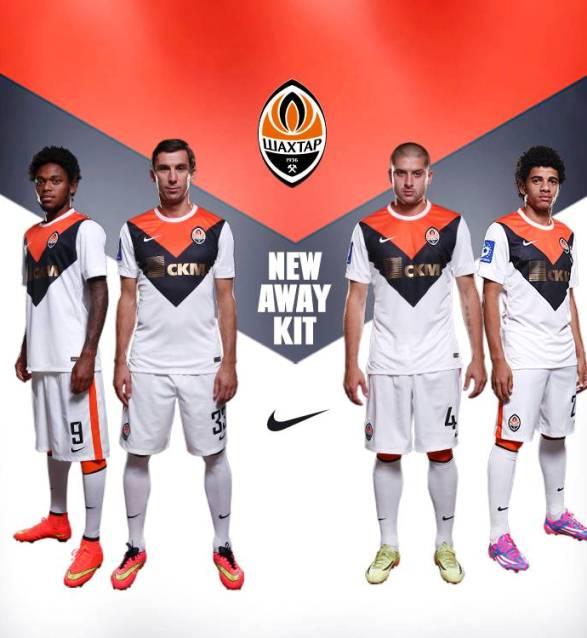 New Shakhtar Donetsk Away Kit 2014 15