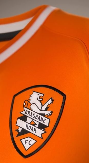Orange Brisbane Roar Jersey 2014 15
