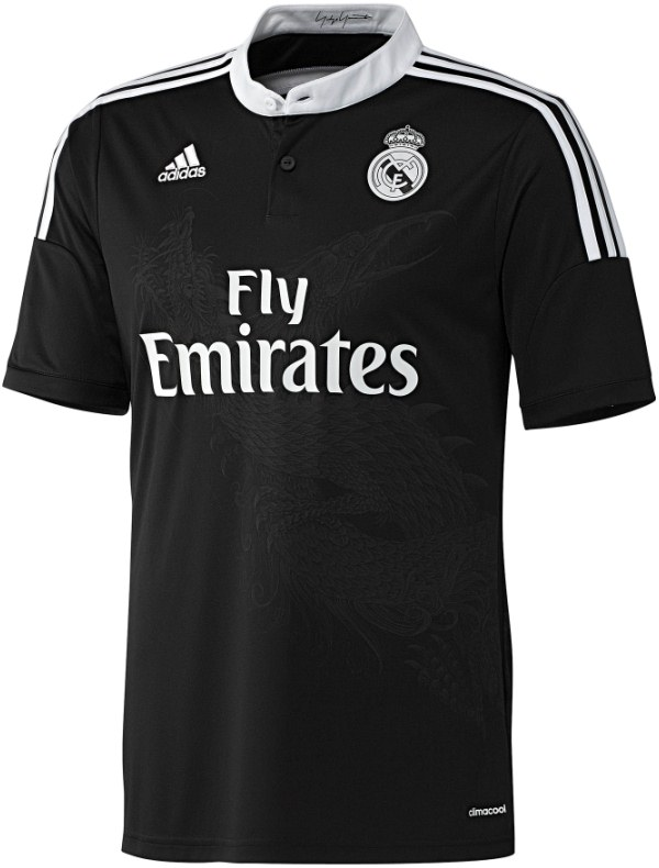 Real Madrid Dragon Shirt 2014 15