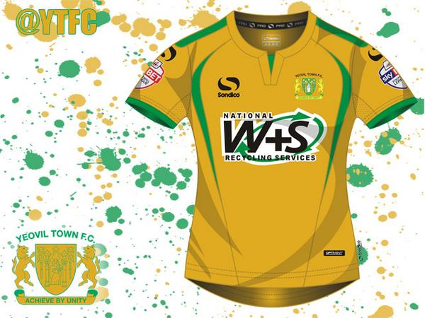 Yeovil Town Away Kit 14 15