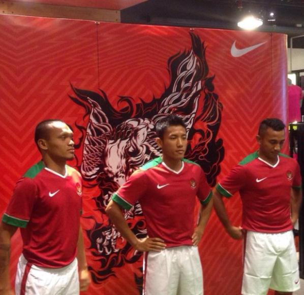 New Indonesia Kits 2014-15- Nike Garuda Jerseys 14-15 Home Away