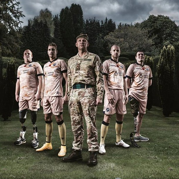 Millwall Special Kit Brentford Game 2014