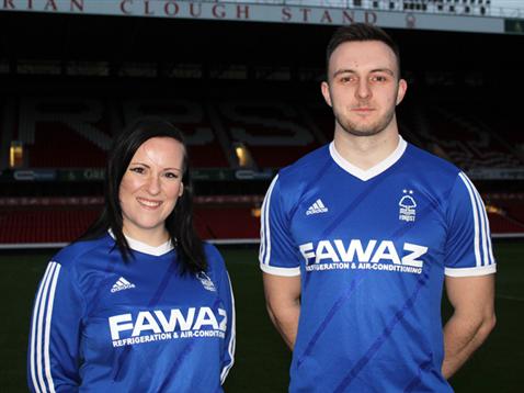 Blue Nottingham Forest Shirt 2014 2015