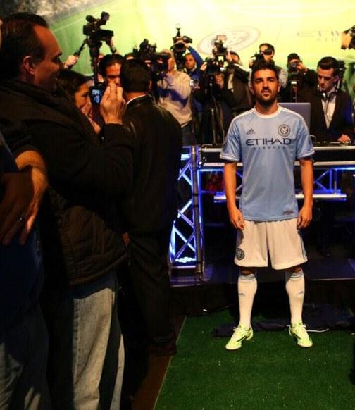 New NYCFC 2015 Jersey- New York City FC MLS Home Kit 2015 Adidas