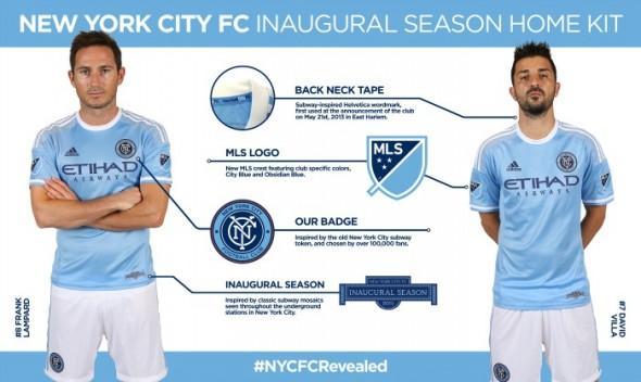 New NYCFC 2015 Jersey