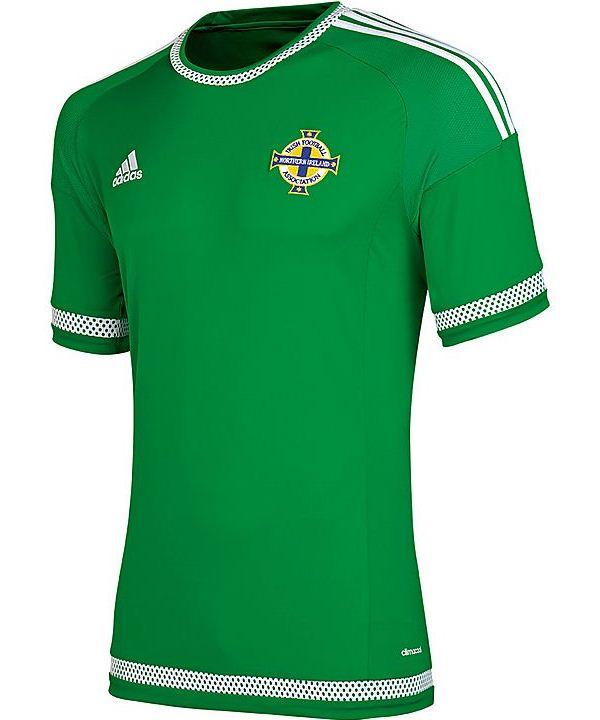New Northern Ireland Kit 2015- Adidas NI Home Jersey 2015
