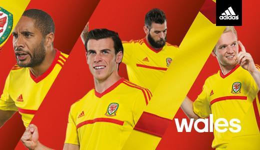 New Welsh Away Kit 2015