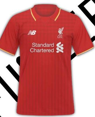Leaked Liverpool Kit 15/16- Liverpool New Balance Shirts Leak 2015/2016