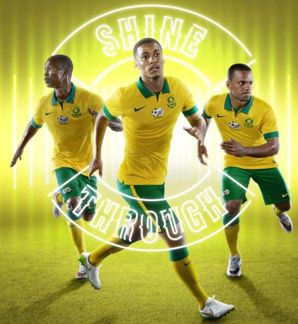 New Bafana AFCON Jersey 2015- Nike South Africa Kits 2015 Home Away