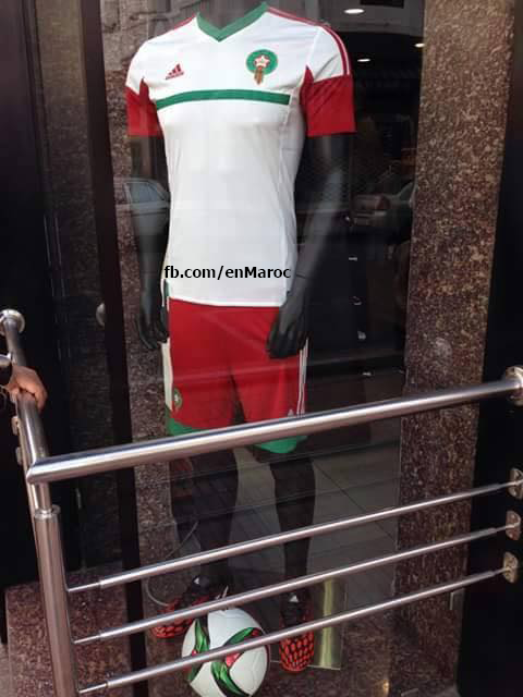 New Morocco Jersey 2015