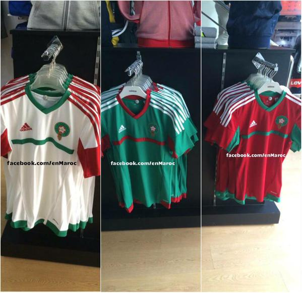 New Morocco Kit 2015