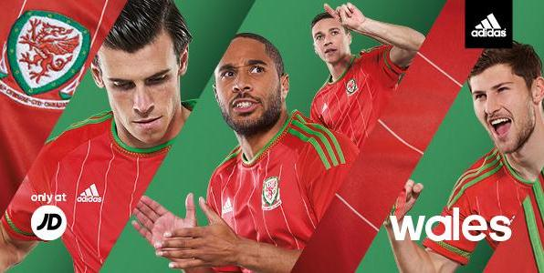 New Welsh Football Shirt 2015