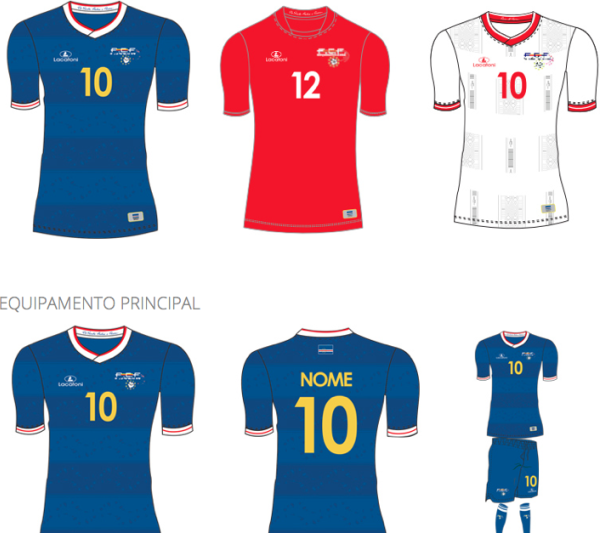Cape Verde Football Kit 2015