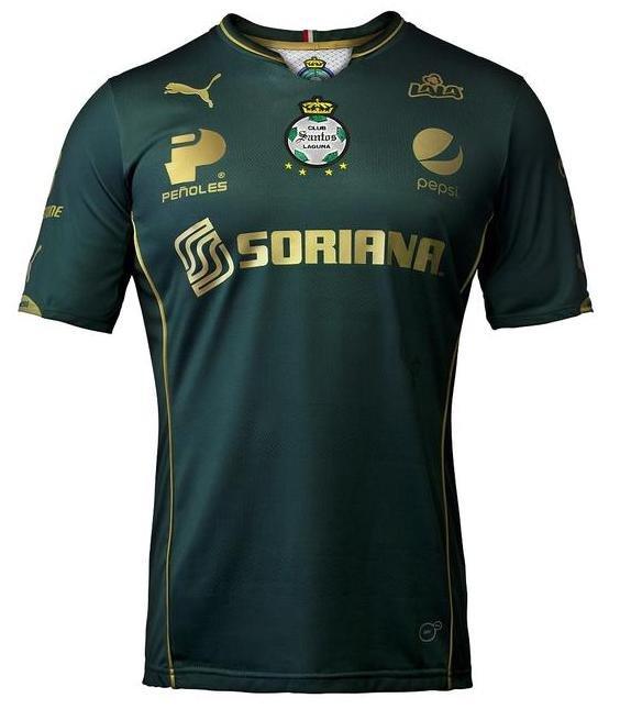 Club Santos Laguna Third Jersey 2015