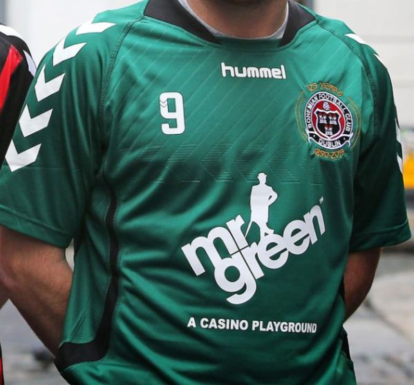 Green Bohemians Jersey 2015- New Bohs Away Kit 2015 Hummel