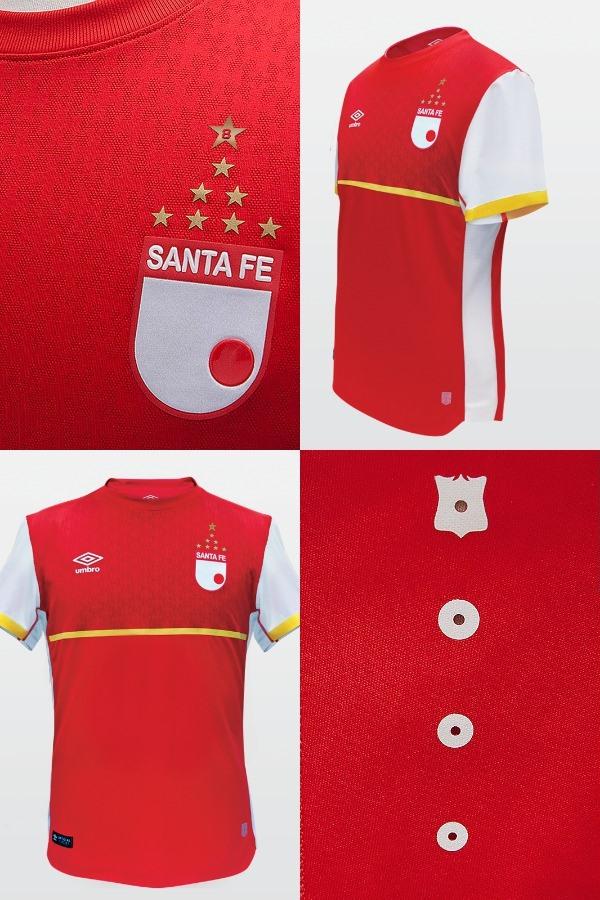 Indumentaria Santa Fe Umbro 2015