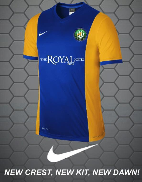 New Bray Wanderers Away Jersey 2015