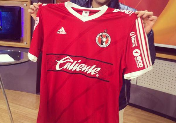 New Club Tijuana Adidas Jersey 2015- Xolos Home Kit 2015