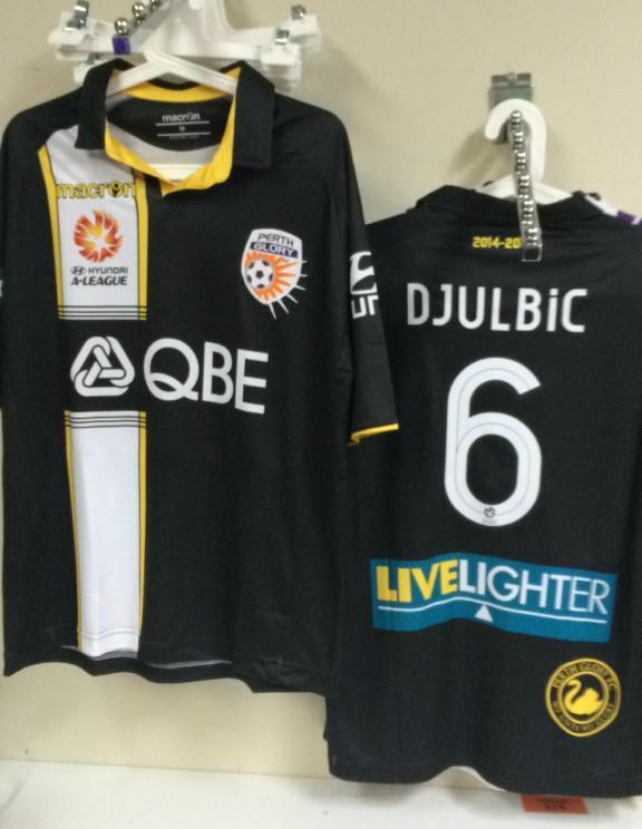 Perth Glory Third Jersey 2015