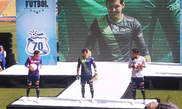 Puebla Goalkeeper Kit 2015