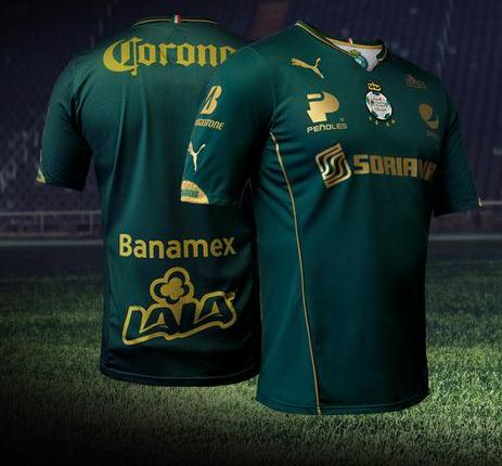 Santos Laguna Third Kit 15 16