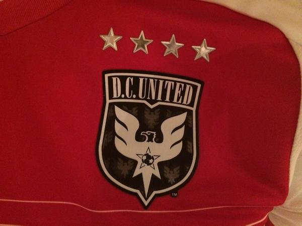 DC United 2015 Badge