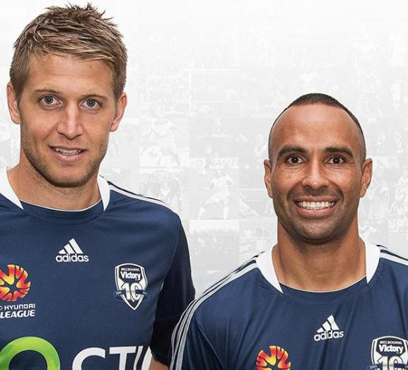 Special edition Melbourne Victory Jersey v Perth Glory- based on first A-League design
