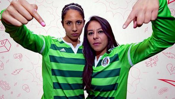 Mexico Womens Soccer Jersey 2015 World Cup