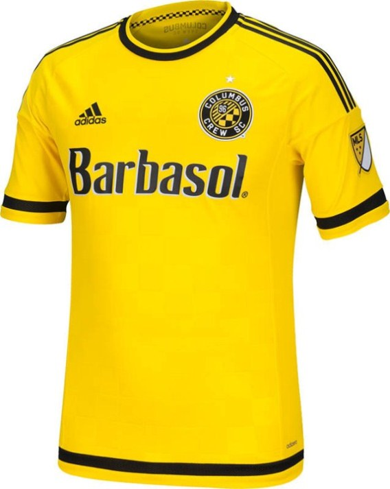 New Columbus Crew Shirt 2015