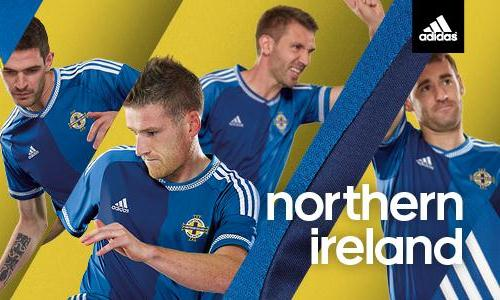 New Northern Ireland Away Jersey 2015