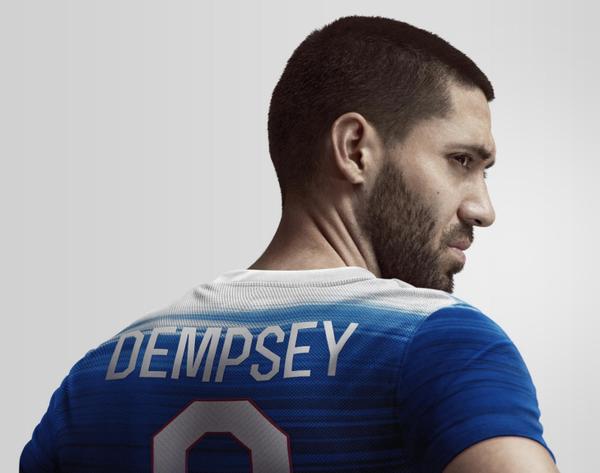 USA Away Shirt Dempsey