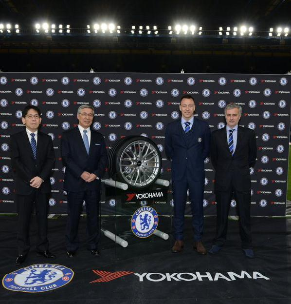 New Chelsea Yokohama Rubber Kit Sponsorship Deal-  £40m a year from 2015-2020