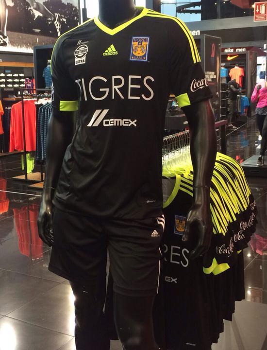 Black Tigres Jersey 2015