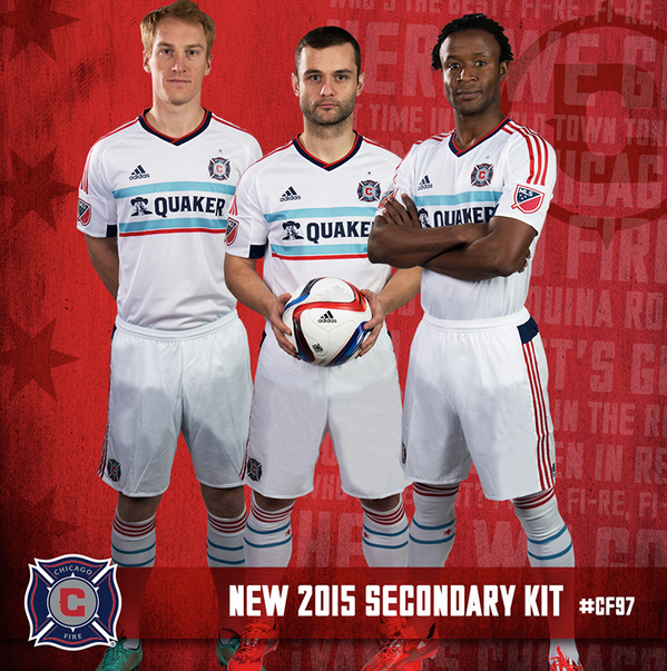 Chicago Fire Away Jersey 2015