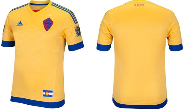 Colorado Rapids Away Jersey 2015