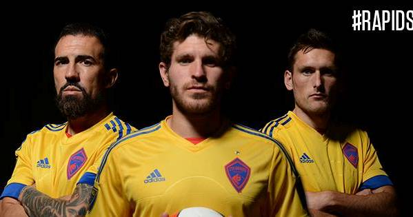 Gold Colorado Rapids Shirt